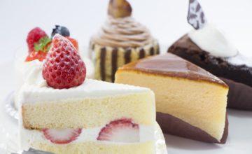 色んな種類のケーキ