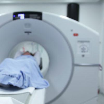 CT検査の様子