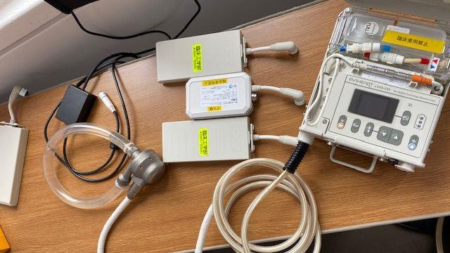 補助人工心臓の機器一式