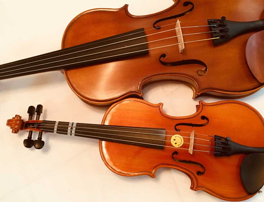 親子のバイオリン