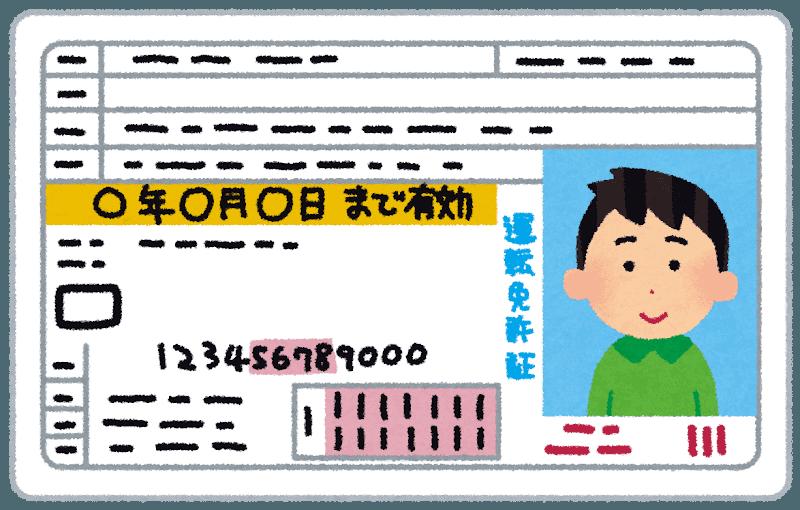 緊急事態宣言中に免許証の更新手続きに行ってきました